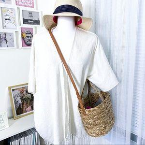 Billabong Whisper With Me Cream Kimono Boho Style
